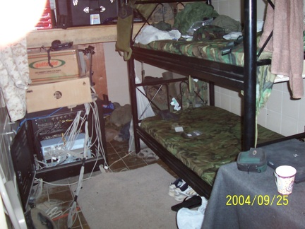 My house... in the middle of Iraq. My house